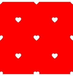 Simple background pattern with hearts for vector
