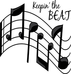 The beat vector