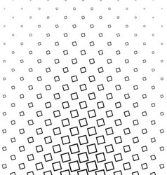 Abstract black and white angular square pattern vector image vector image