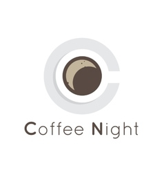 flat coffee shop cafe or restaurant logo vector image vector image