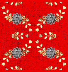 Paisleys elegant floral pattern background sketch vector