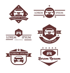 Automobile business logo vector