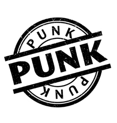 Punk rubber stamp vector