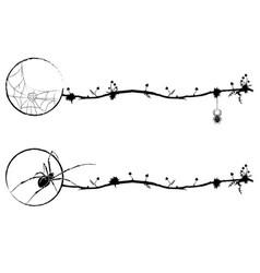 Set of magic vignettes vector