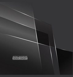 abstract monochromatic gray surfaces background vector image vector image