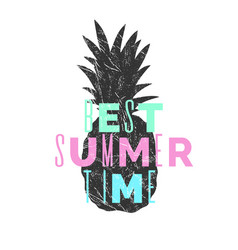 Best summer day stylish poster trendy graphics vector