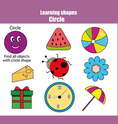 Educational children game kids activity learning vector
