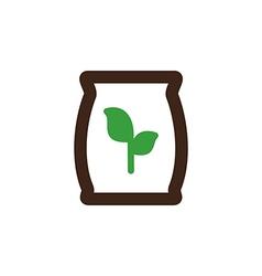 Fertilizer icon garden vector