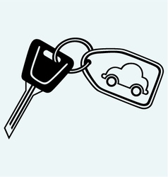Key chain image vector