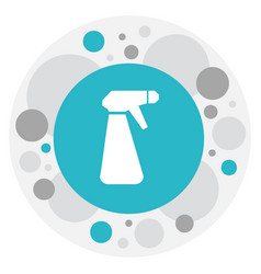 Of hygiene symbol on spray vector