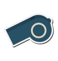 single whistle icon vector image