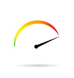 Symbol min max speed meter vector
