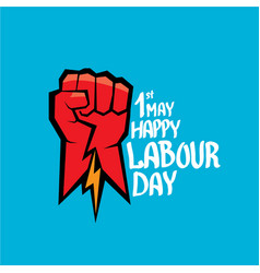 1 may - labour day labour day poster vector