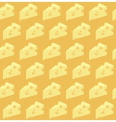 Cheese pattern vector