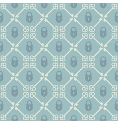 Keys seamless pattern vector