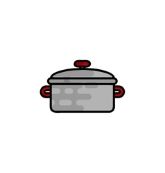 Cooking flat icon vector image