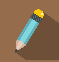 Pencil icon flat style vector