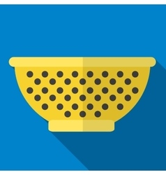 Sieve icon vector