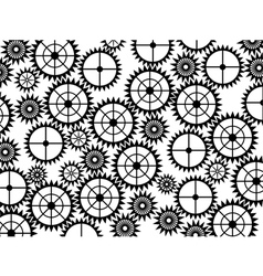 Gear wheels background vector