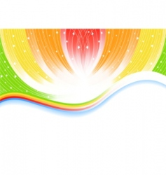 vector abstract bright background vector image
