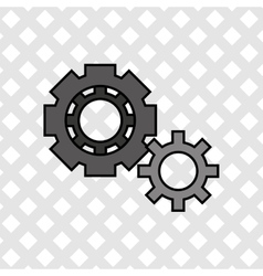 Gears icon design vector