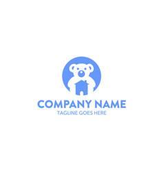 bear logo-14 vector image