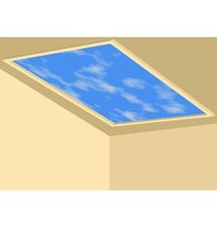 Ceiling sky vector