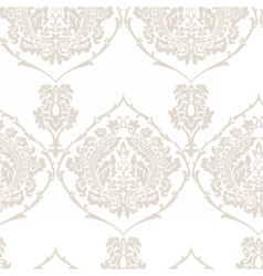 Damask royal ornament pattern vector