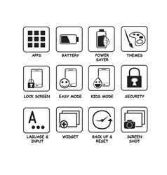 Icon basic vector
