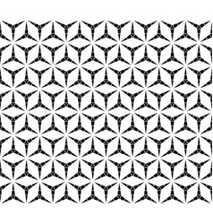 repeat triangular background seamless pattern vector image vector image