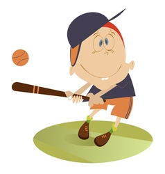 Baseball player vector
