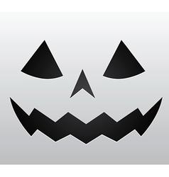 Pumpkin face vector