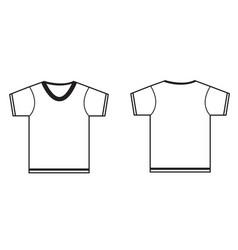 Tshirt icon on white background blank tshirt vector