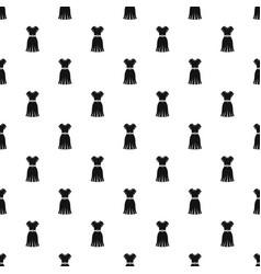 dress pattern vector image