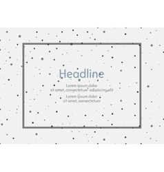 Background for presentation slides with dots vector