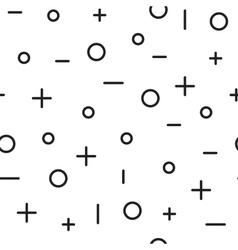 Universal fashion geometric seamless vector