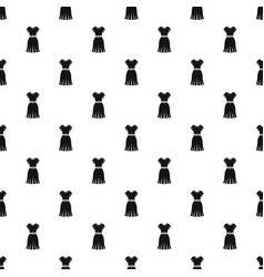 Dress pattern vector