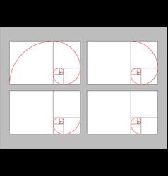 Golden ratio section vector