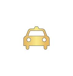 Taxi computer symbol vector image