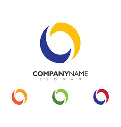 Business corporate logo template vector