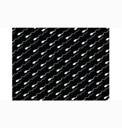 sperm pattern background vector image vector image