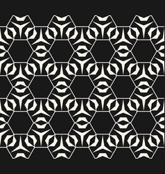 Subtle geometric pattern with hexagonal grid vector