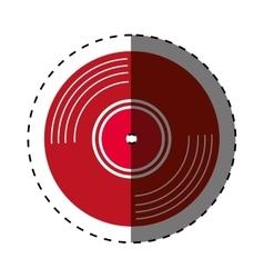 vinyl vintage record vector image vector image