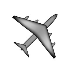 airplane icon sign vector image