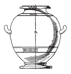 Greek urn greek urn have a significance from the vector