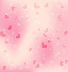 heart pink background vector image vector image
