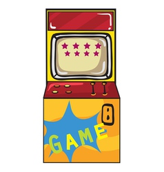 a gaming machine vector image