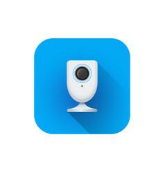 home surveillance web camera vector image