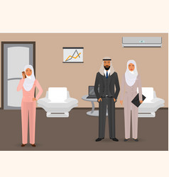 Business people concept arab business people vector