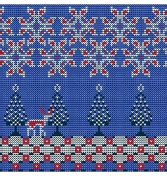 Christmas sweater pattern 12 vector